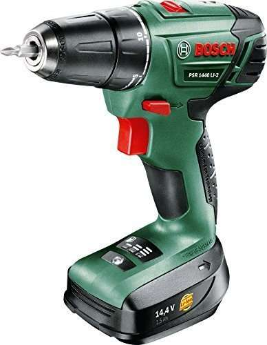 Bosch PSR 1440 LI-2 Cordless Lithium-Ion Drill Driver Featuring Syneon Chip