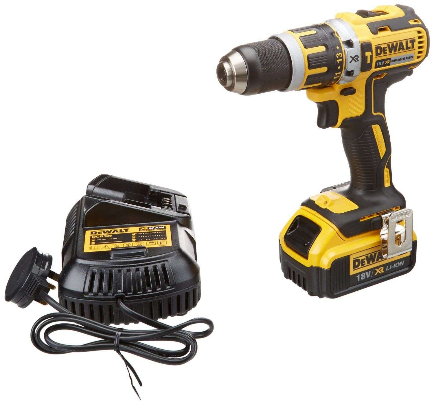 Dewalt DCD795M1 18 V XR Brushless Compact Lithium-Ion Combi Drill
