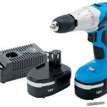 Draper 20497 18-Volt Cordless Hammer Drill with Two Ni-CD Batteries