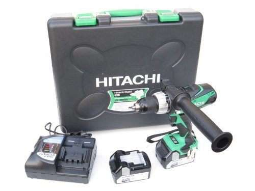 Hitachi DV18DSDL-JJ 18V Cordless Li-Ion Combi Drill with 2 x 5Ah Battery