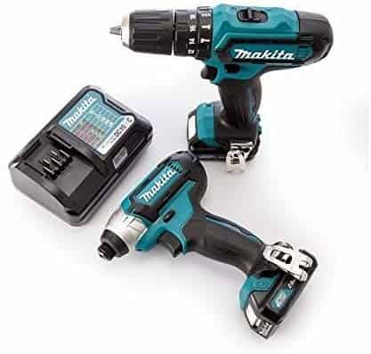 Makita CLX202AJ 10.8 V CXT Combi and Impact Driver review